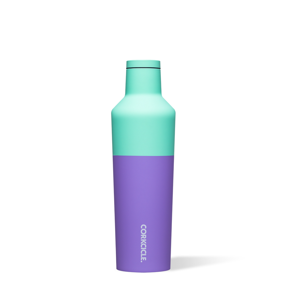 Corkcicle 16 oz Canteen in Mint Berry