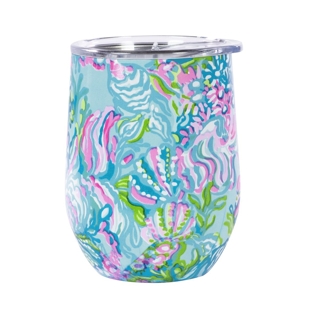 Lilly Pulitzer Wine Tumbler