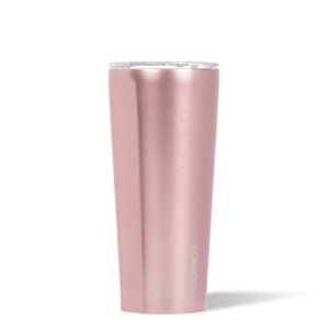 24 oz Tumbler Rose Metallic