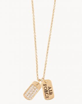 Spartina Air Force Necklace in Gold