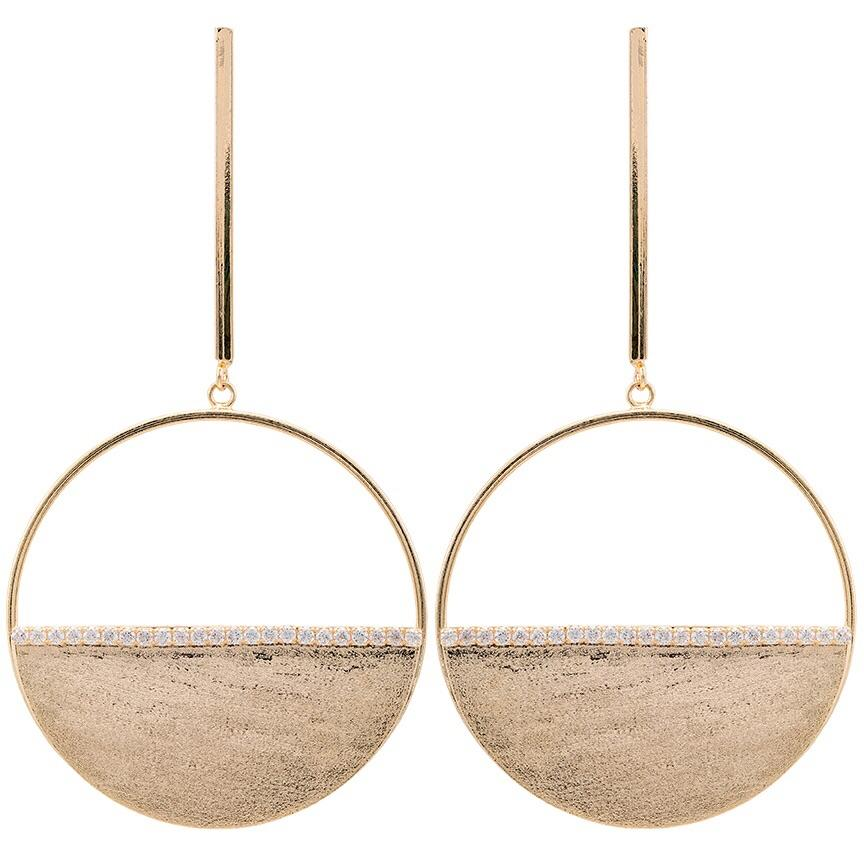 Sheila Fajl Avila Earrings in Champagne