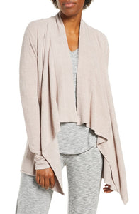 Barefoot Dreams Cozy Chic Ultra Lite Cardi in Faded Rose