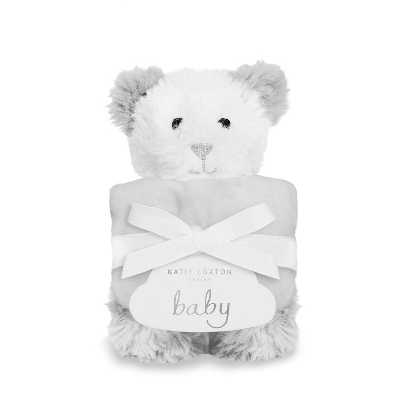 Katie Loxton Bear Soft Toy Comforter