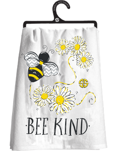 Simply Southern Bee Kind Tea Towel