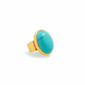 Julie Vos Turquoise Ring - ONE SIZE