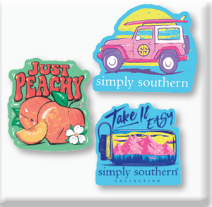 Simply Southern Decal Set of 3