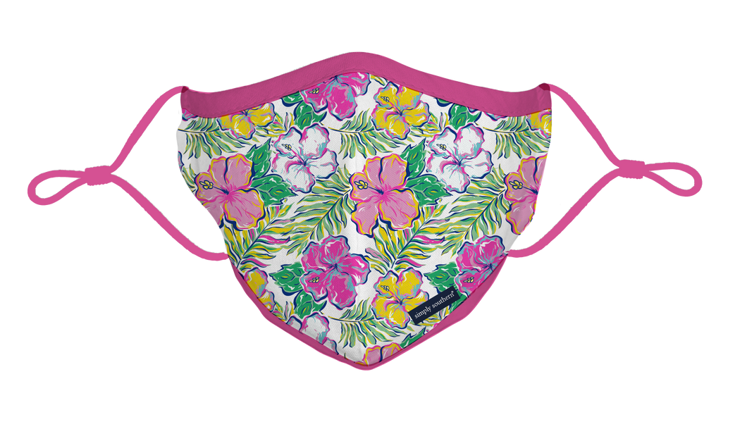 Simply Southern Youth Floral Mask