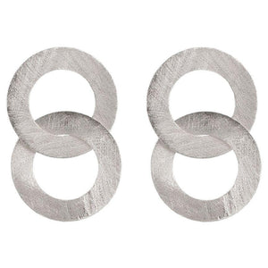 Sheila Fajl Greta Earrings in Silver