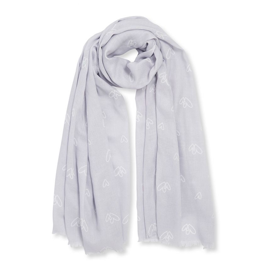 Katie Loxton Heart of Gold Scarf