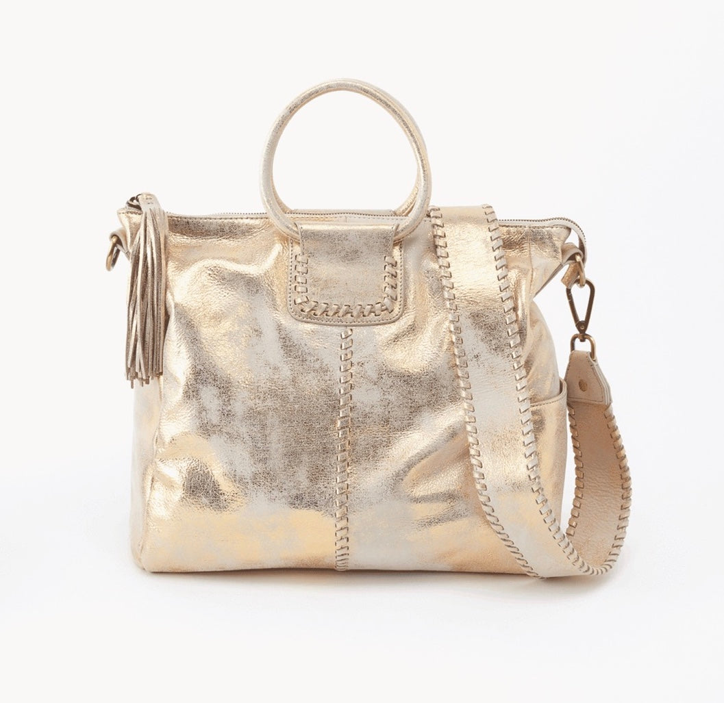Hobo Sheila Bag in Gold