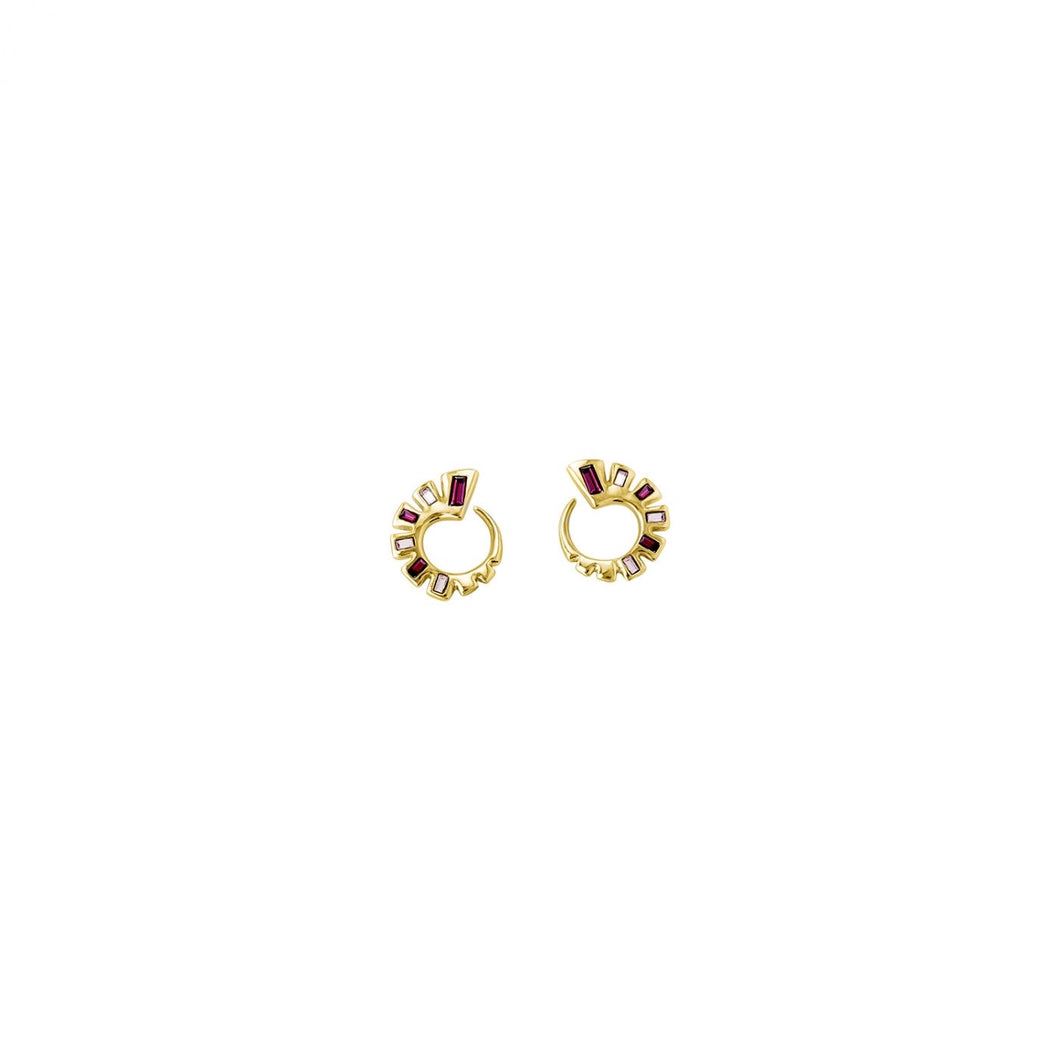 Uno de 50 Nightbird Wrap Gold Earring