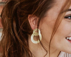 Sheila Fajl Anna Earrings in Gold