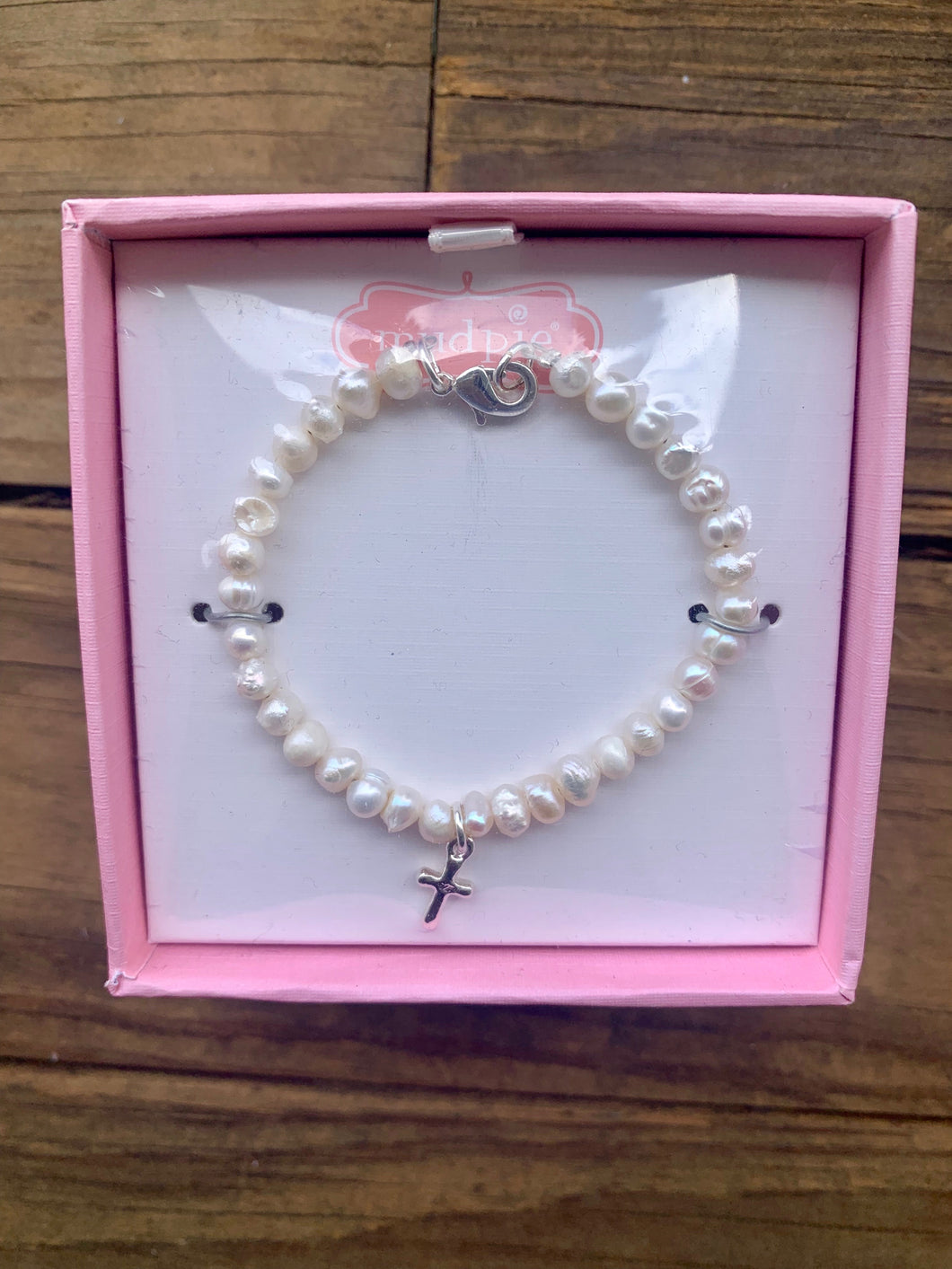 Mudpie Kids Cross Bracelet
