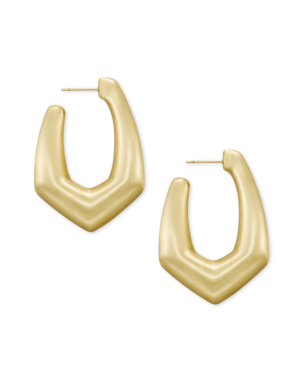 Kendra Scott Kaia Hoop Earrings in Gold