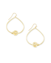 Load image into Gallery viewer, Kendra Scott Presleigh Love Knot Open Frame Earring