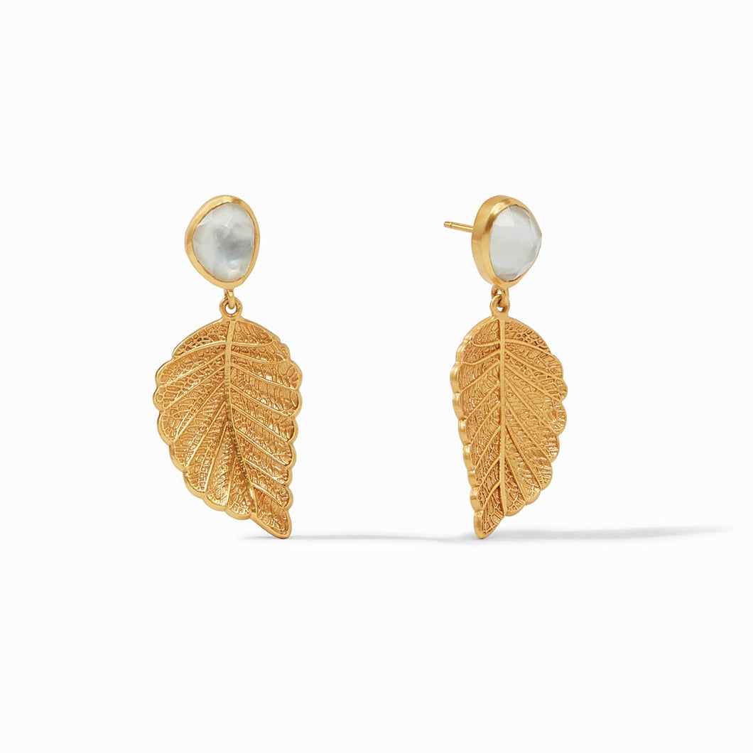 Julie Vos Aspen Leaf Earring