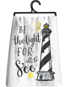 Simply Southern Be The Light Tea Towel