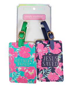 Simply Southern Set of 2 Luggage Tags
