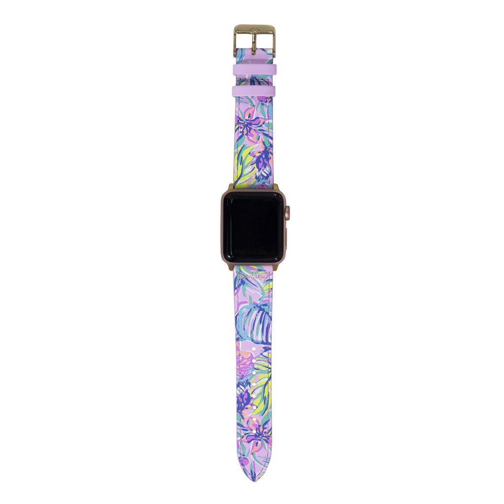Lilly Pulitzer Watch Band Mermaid in the Shade