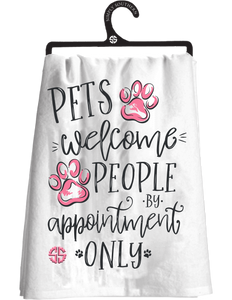 Simply Southern Pets Welcome Tea Towel