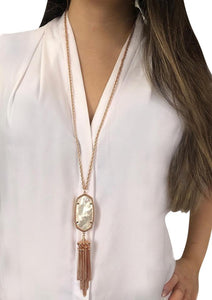 Kendra Scott Rayne Rose Gold in Pearl