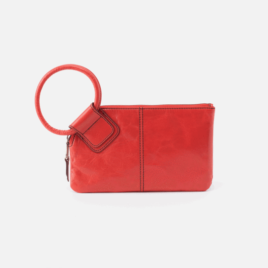 Hobo Sable Rio Leather Wristlet