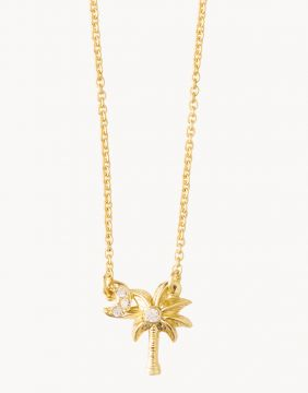 Spartina Say Y'all Necklace in Gold