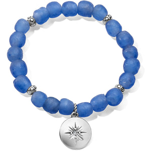 Brighton Sea Shore Compass Stretch Bracelet