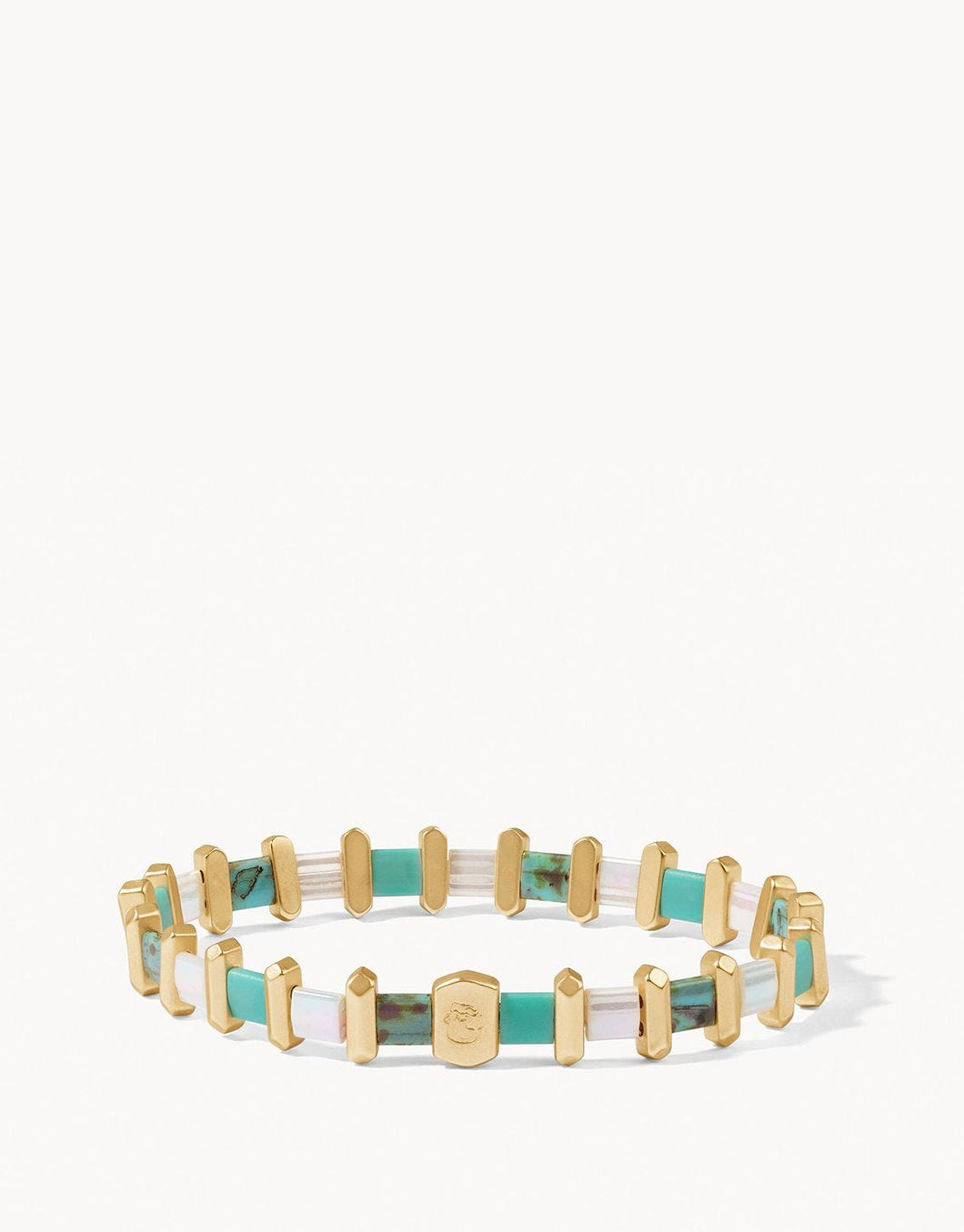 Spartina Tila Stretch Bracelet in Turquoise
