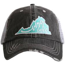 Virginia Hat in Teal