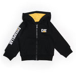 CAT KIDS TRADEMARK BANNER ZIP SWEAT