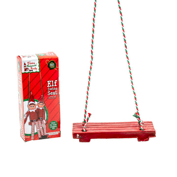 Xmas Elves BB Elf Swing 13x5cm w String