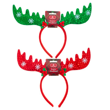 Headband Novelty Xmas Cute Antlers