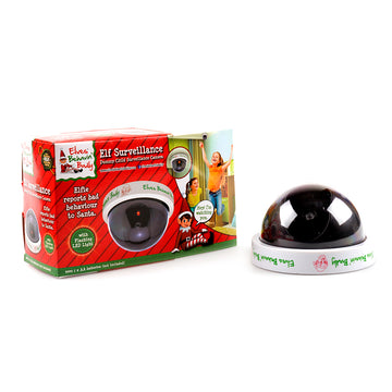 Xmas Elves BB Elf Surveillance Faux Camera