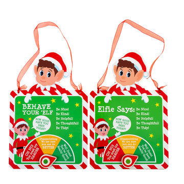 Xmas Elves BB Naughty/Nice Meter w/ Hang Tag