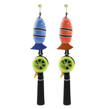 GO FISH ROD CAT TOY ASSORTED