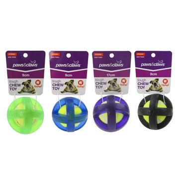 TOUGH TPR COVERED TENNIS BALL TOY