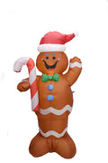 150cm INFLATABLE GINGERBREAD MAN