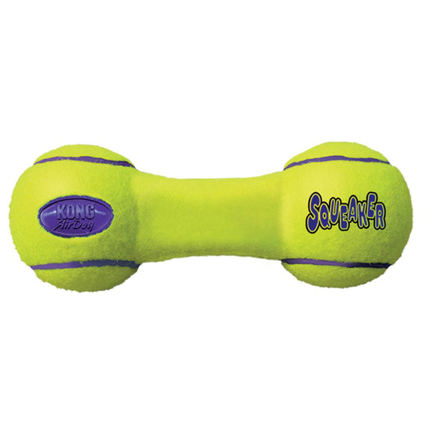 KONG DOG AIRDOG SQUEAKER DUMBBELL