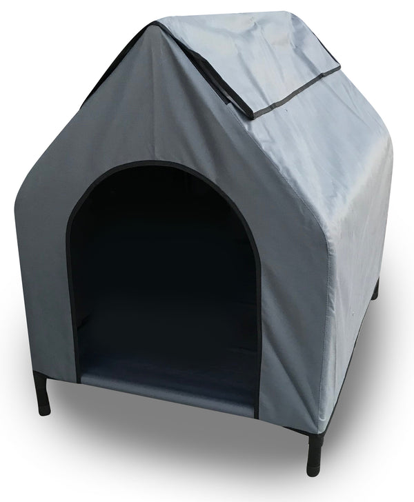 Elevated Pet House - Grey