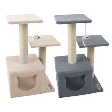 CATSBY DOUBLE PLATFORM HIDEAWAY TOWER