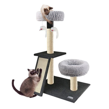 CATSBY SCRATCHING POST W/RAMP DOUBLE LOUNGER