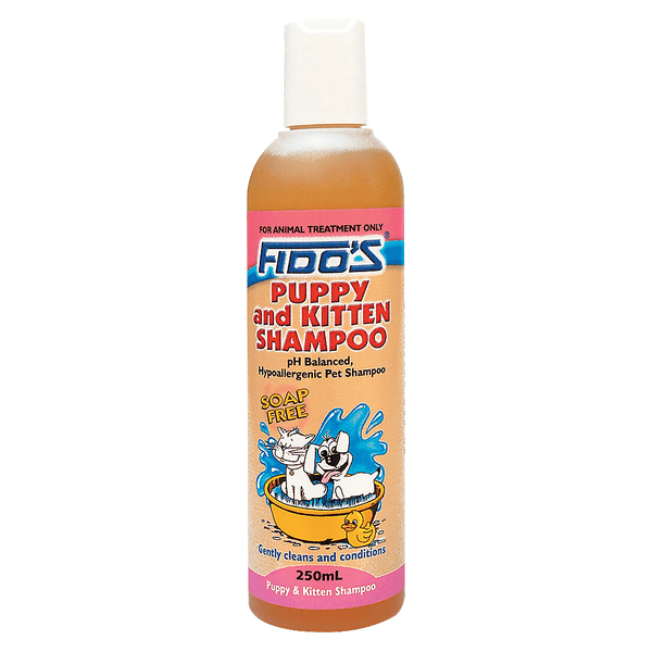 FIDOS PUPPY AND KITTEN SHAMPOO 250ML