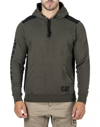 Cat Logo Panel Hooded Sweatshirt