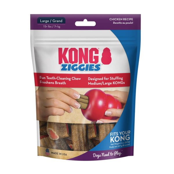 KONG DOG STUFF'N ZIGGIES