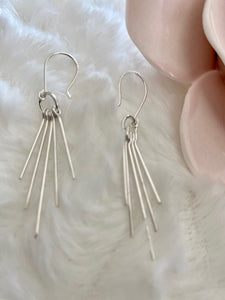 Multiple Line Earrings