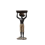 Statue homme africain
