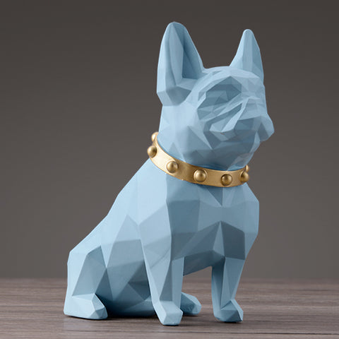 Statue chien assis