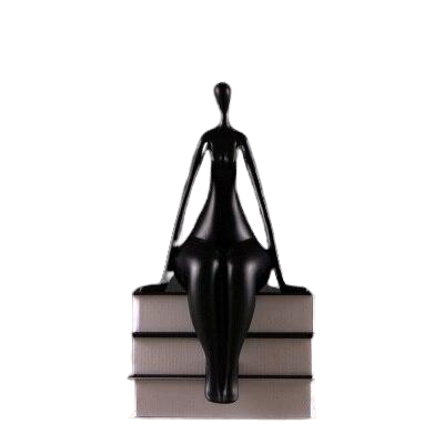 statue femme assise