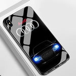Audi Reinforced-Glass iPhone Case
